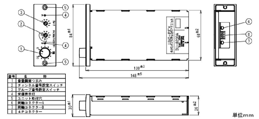 ワイヤレスチューナーユニット DU-8200