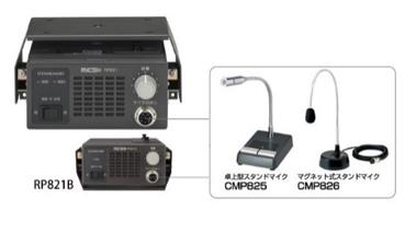 RP826/RP831 複数同時通話対応車載型子機