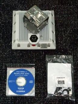 25GHz帯小電力データ通信システムSINELINK 25G