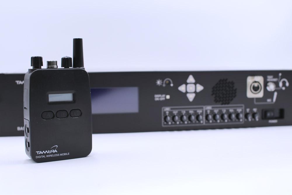 デジタルワイヤレスインカムシステム
