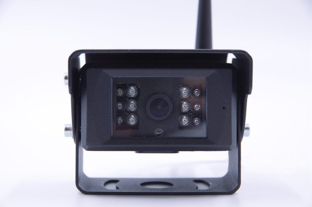 重機後方無線監視カメラ
